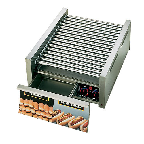 Star 208/240 Volt Star Grill Max 75SCBDE 75 Hot Dog Roller Grill with Bun Drawer, Electronic Controls and Duratec Non-Stick Rollers at Sears.com