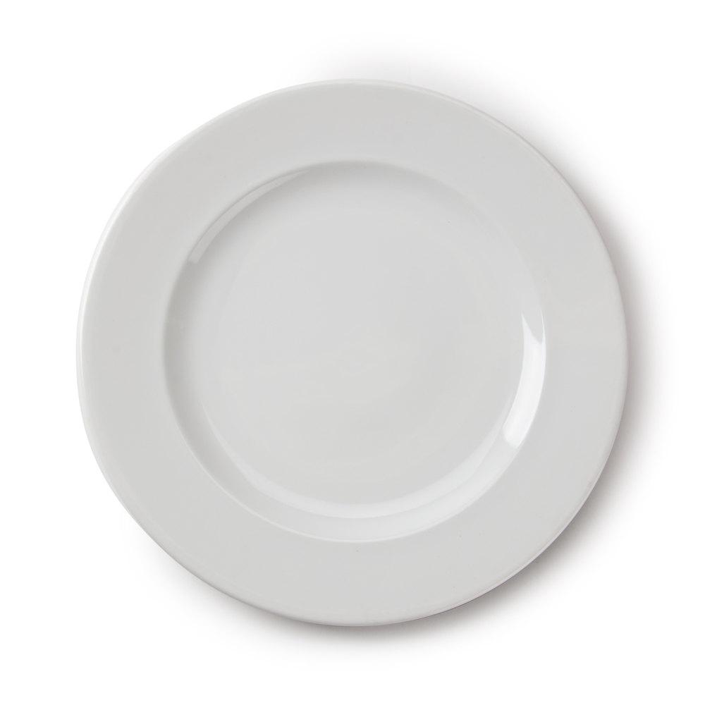 """... R0801 Arcoroc Candour Porcelain Dinner Plate - 11 1/2"""" 12 / Case"""