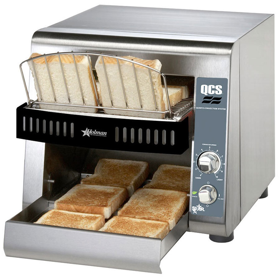 "Star QCS1-350 Conveyor Toaster with 1 1/2"" Opening"