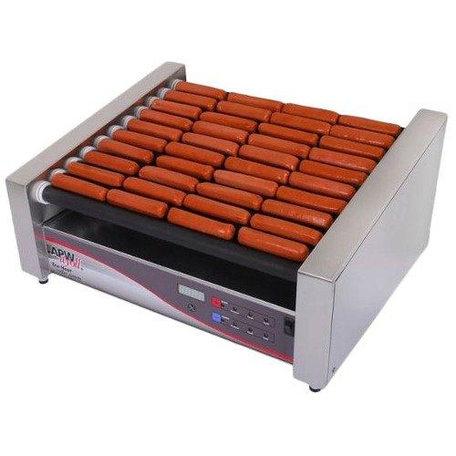 """APW Wyott 208/240 Volt APW Wyott HRSDi-50S X*PERT Digital Hotrod 50 Hot Dog Nonstick Roller Grill - 30 1/2"""" Slanted Top at Sears.com"""