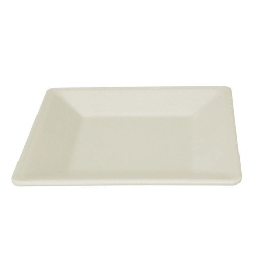 "Passion Pearl 8 1/4"" Square Plate - 12/Pack"