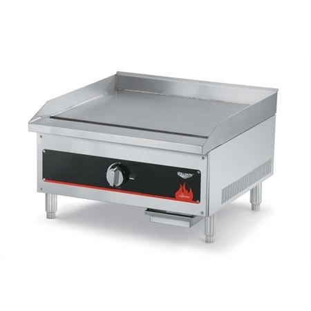 Vollrath 40718 Cayenne 12 inch Flat Top Gas Countertop Griddle (Anvil FTG9012) - Manual Control