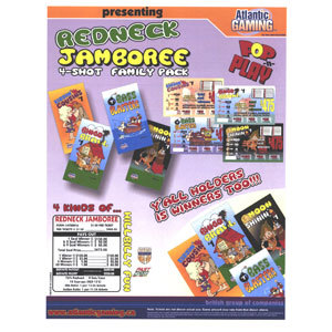 """""""Redneck Jamboree"""" 1 Window Pull Tab Tickets - 900 Tickets Per Deal - Total Payout: $680 at Sears.com"""