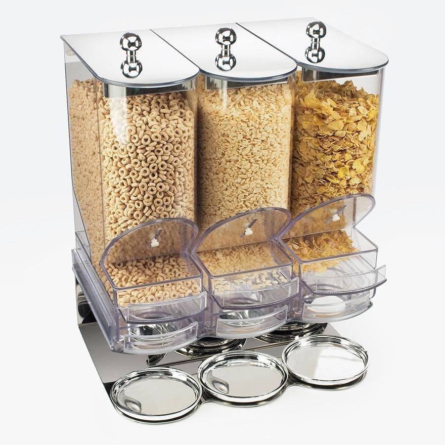 Cal Mil 718 3 Bin Portion Control Cereal Dispenser at Sears.com