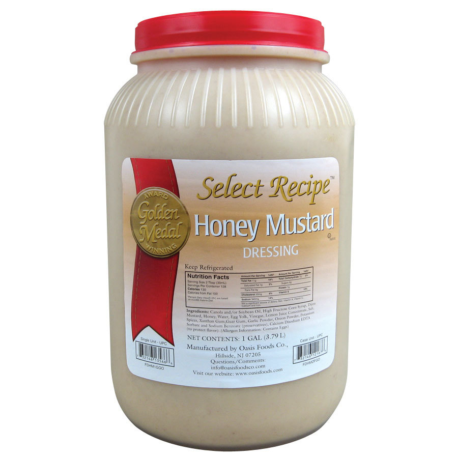 Honey Mustard Dressing (4) 1 Gallon Containers / Case