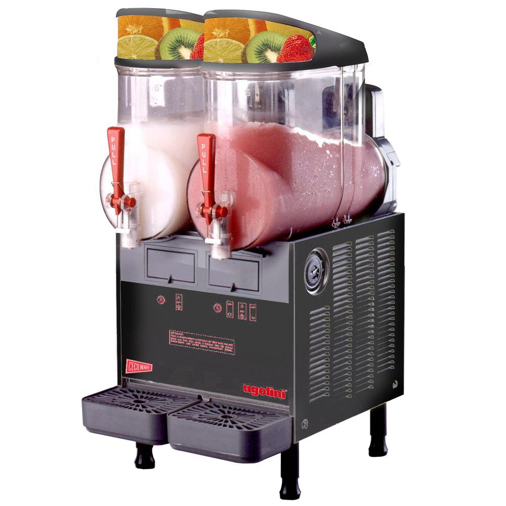 Coffee Shop Slush Machine, Slush Machine And Ingredient