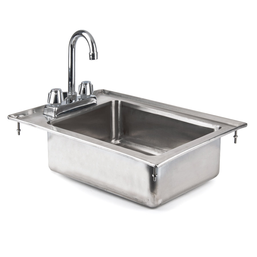 Stainless Steel Utility Sink Drop In : ... 10