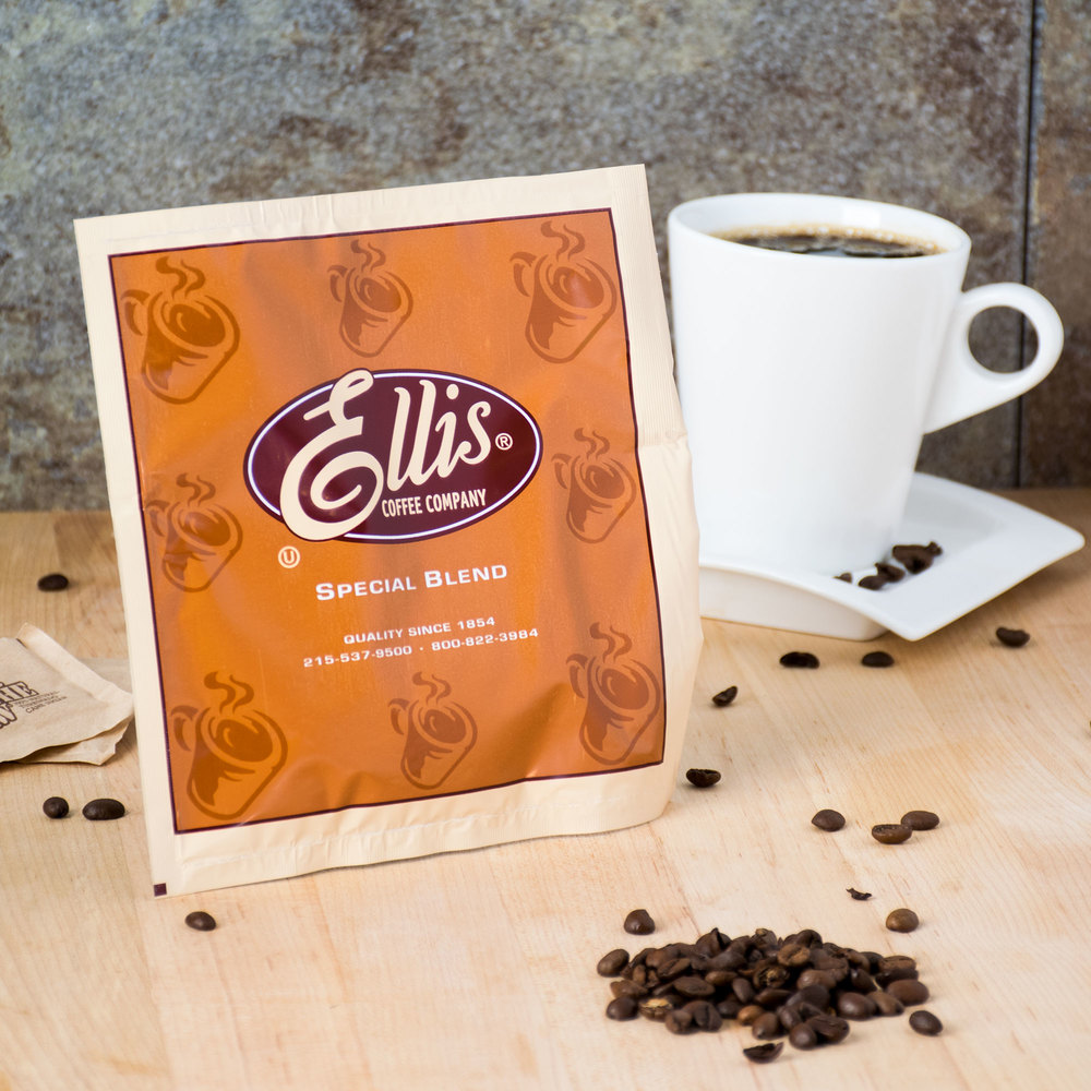 Ellis Regular Room Service Coffee - (150) .5 oz. Packets / Case