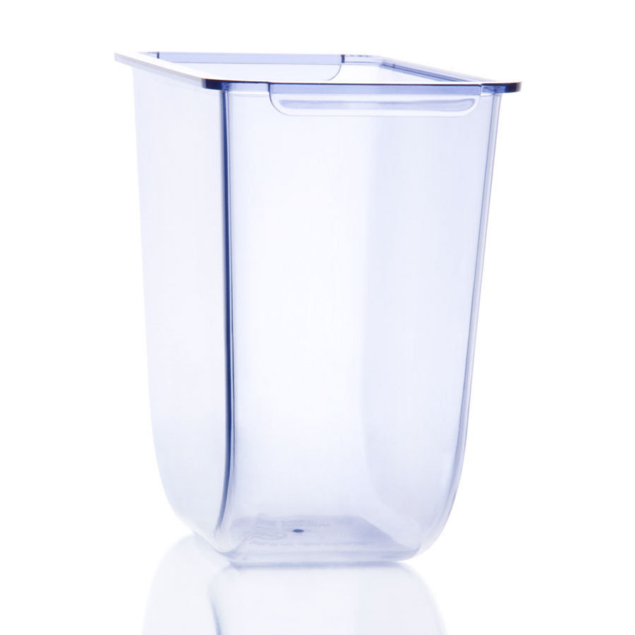 San Jamar BD105 Clear 1.5 Pint Replacement Tray for San Jamar Dome - NSF