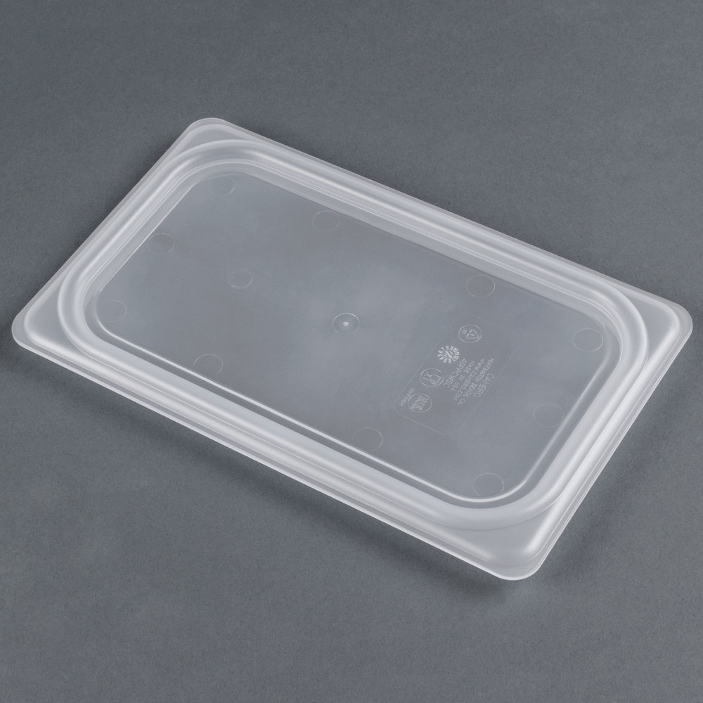 Cambro 40PPCWSC438 Camwear 1/4 Size Translucent Seal Cover