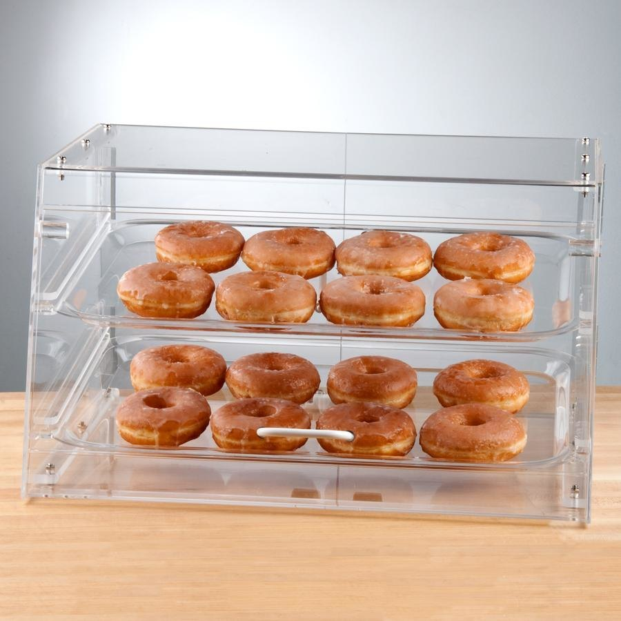2 Tray Bakery Display Case with Front Door