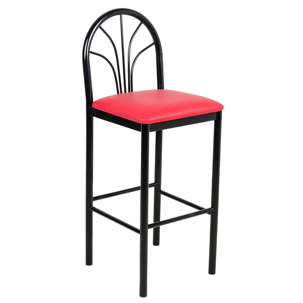 Lancaster Table Amp Seating Fan Back Bar Height Cafe Chair