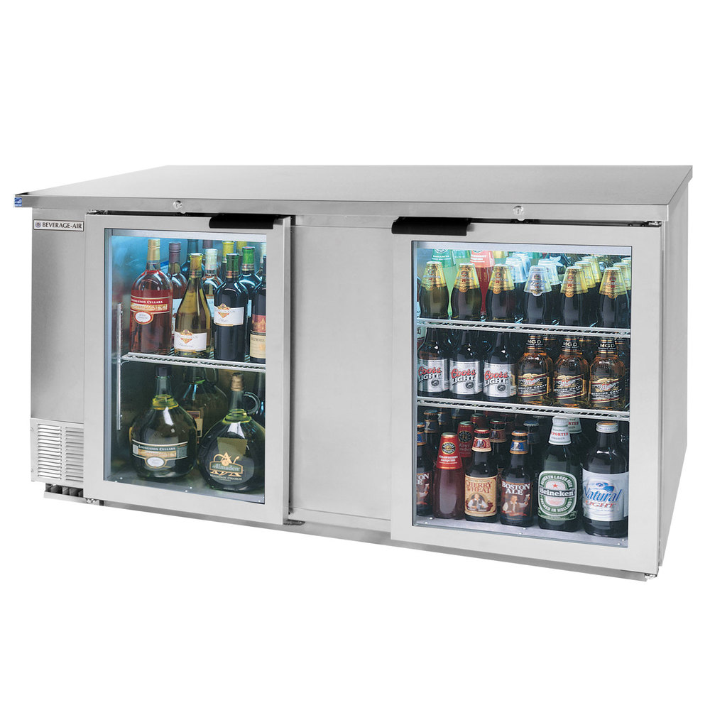 Beverage Air Bb68hc 1 G S 68 Quot Stainless Steel Glass Door
