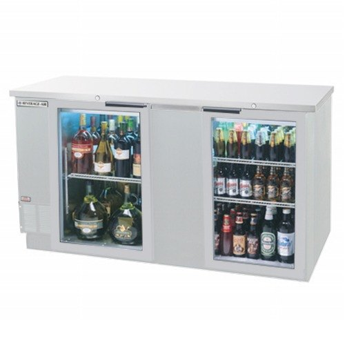 Glass Front Beverage Refrigerator From