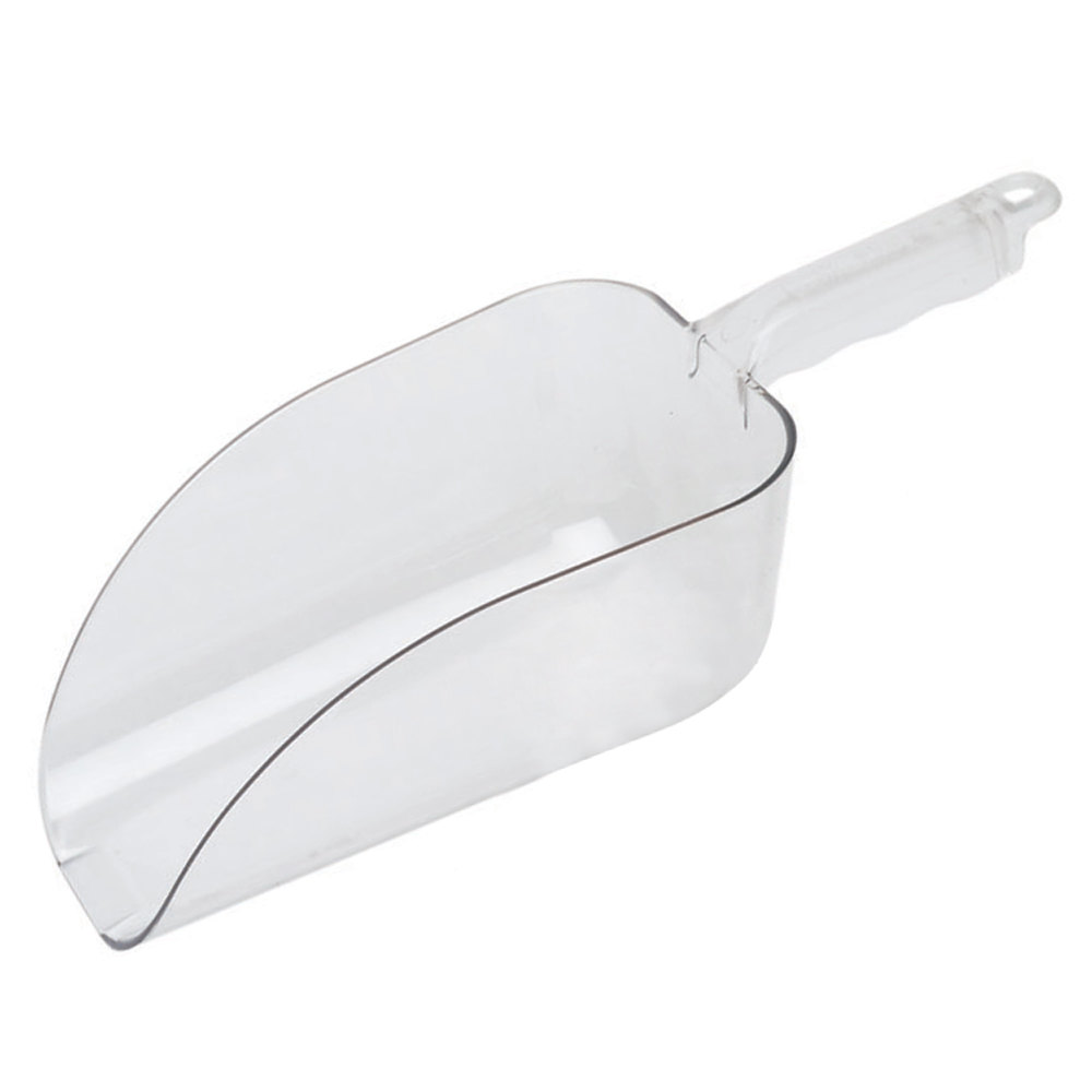 Cambro Camwear SCP64CW135 Clear Polycarbonate Scoop - 2 Qt.