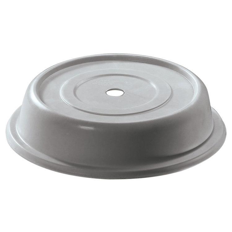 "Cambro Camwear 806CW486 Silver Metallic Camcover 8 7/16"" Plate Cover 12/Case at Sears.com"