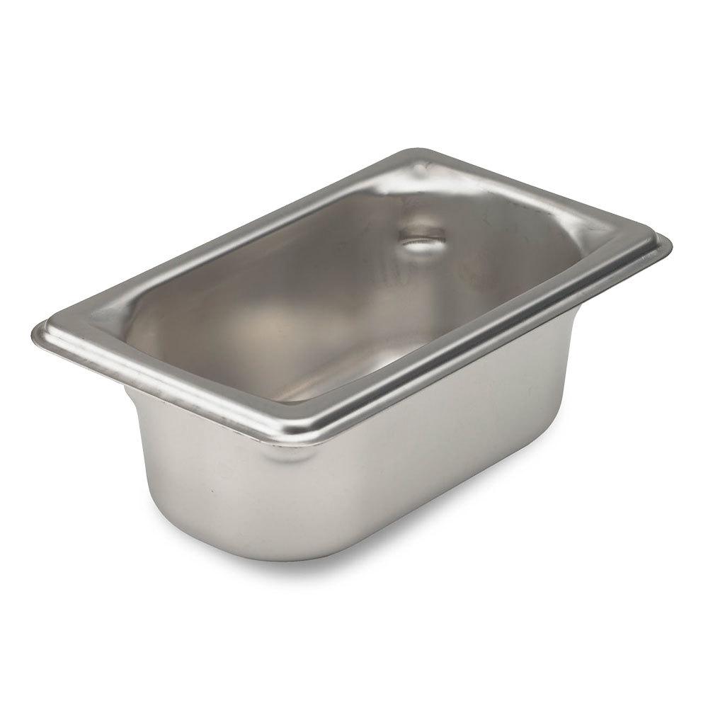 vollrath super pan 3 90922 1 9 size anti jam stainless steel steam table pan 2 1 2 deep. Black Bedroom Furniture Sets. Home Design Ideas