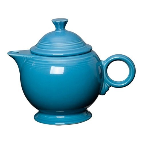 Homer Laughlin 496327 Fiesta Peacock 44 oz. Covered Teapot - 4 Sets / Case