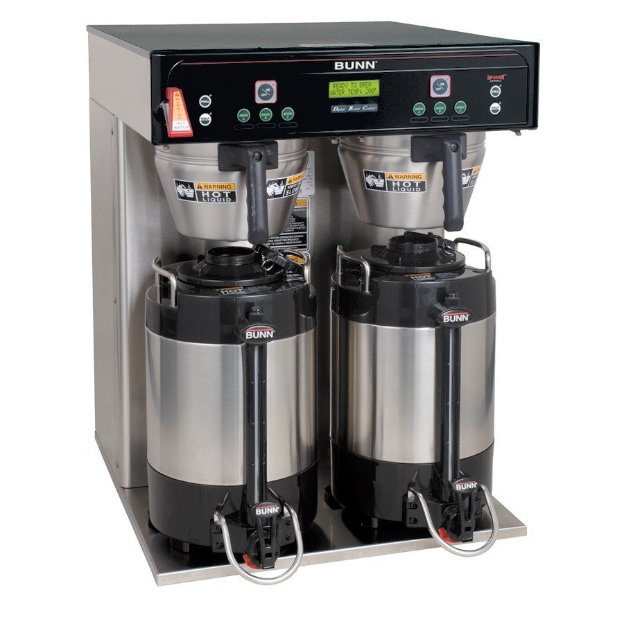 Bunn ICB Infusion Twin Coffee Brewer - Stainless Steel 240V (Bunn 37600.0000)