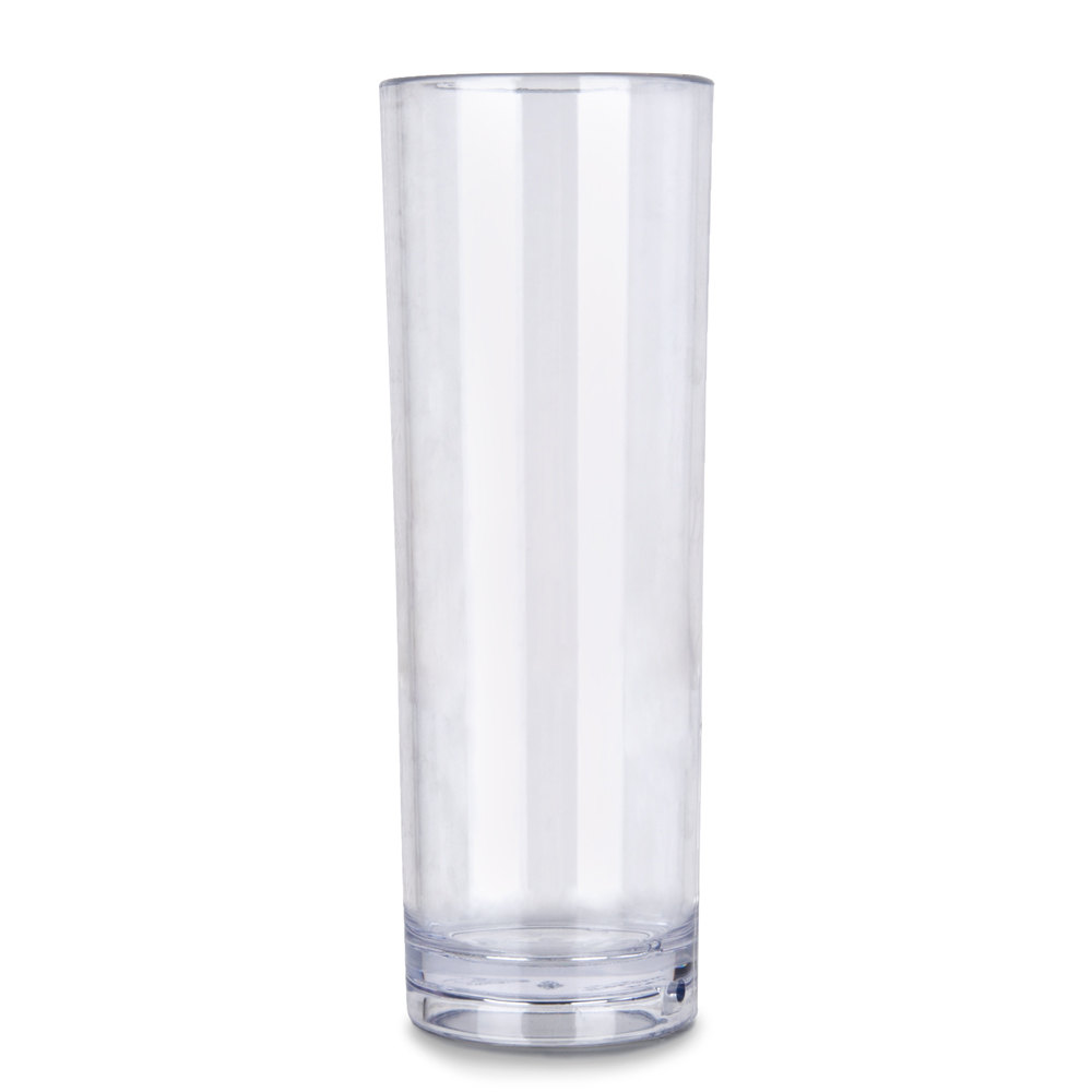 GET H-14-CL (H14) 14 oz. SAN Plastic Tom Collins Glass