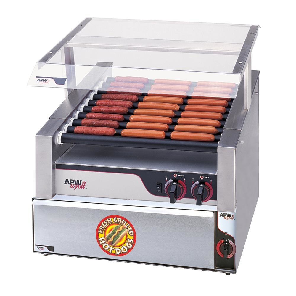 apw wyott hrs 31bw 24 hot dog roller grill with tru turn. Black Bedroom Furniture Sets. Home Design Ideas