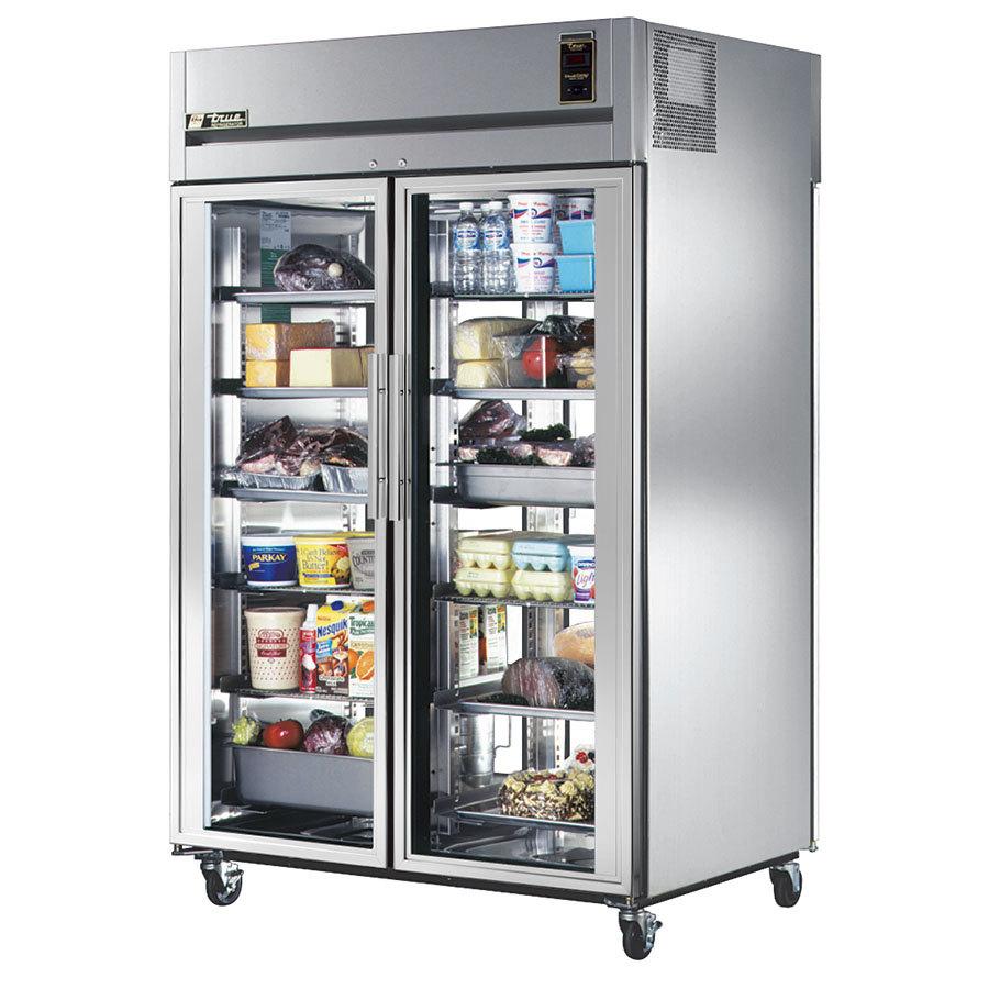 Residential Glass Refrigerator Refrigerator for two glass