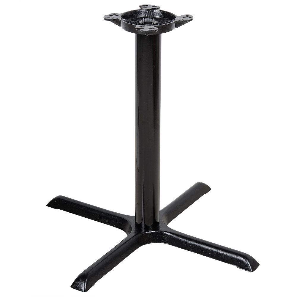 Lancaster Table Seating 30 Black Metal Table Base