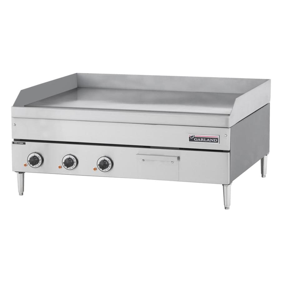 "Garland / US Range 240V 3 Phase Garland E24-48G 48"" Heavy Duty Electric Countertop Griddle at Sears.com"