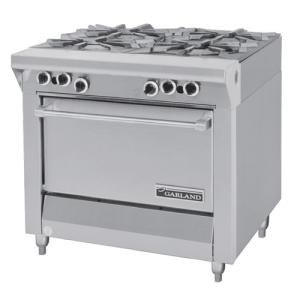 "Garland / US Range Liquid Propane Garland M44S Master Series 4 Burner 34"" Gas Range with Storage Base at Sears.com"