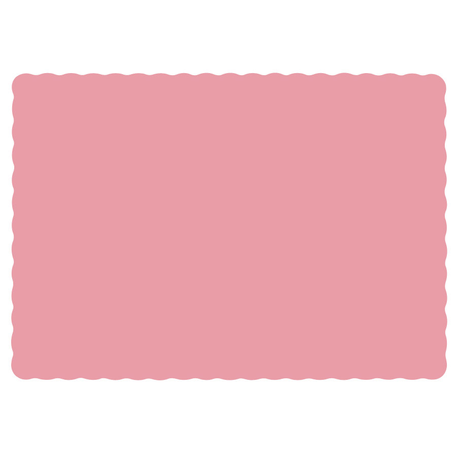 Hoffmaster 310525 10 Quot X 14 Quot Dusty Rose Pink Colored Paper