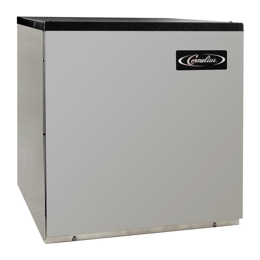 IMI Cornelius CCM0322AH1 Nordic Air Cooled Ice Cuber 349 Pounds, Half Size Ice Cubes