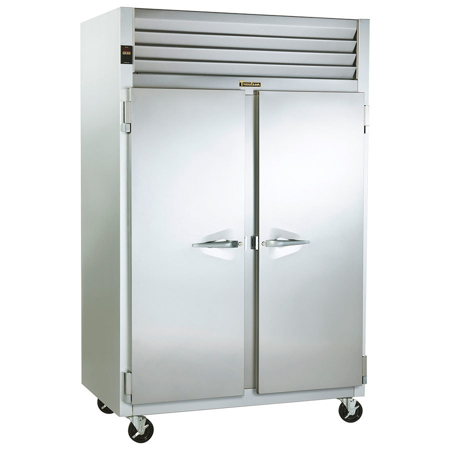 Traulsen G22010 2 Section Reach In Freezer - Left / Right Hinged Doors