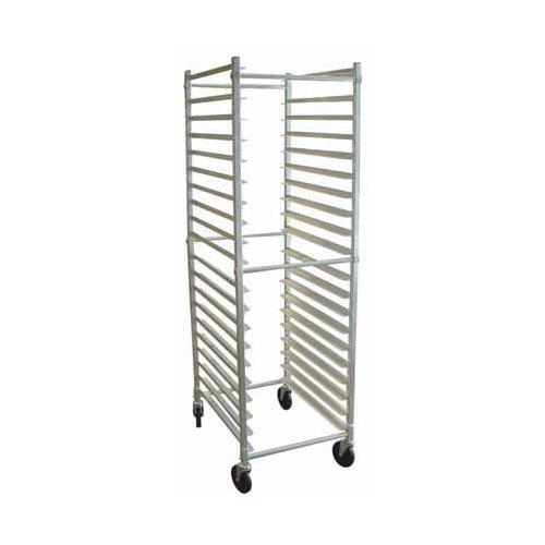Win-Holt ADE1812B/KDA Aluminum 12 Pan End Load Bun Pan Rack