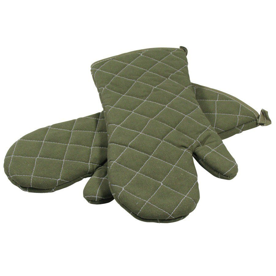 Choice Flame-Retardant Oven Mitts - 15 inch