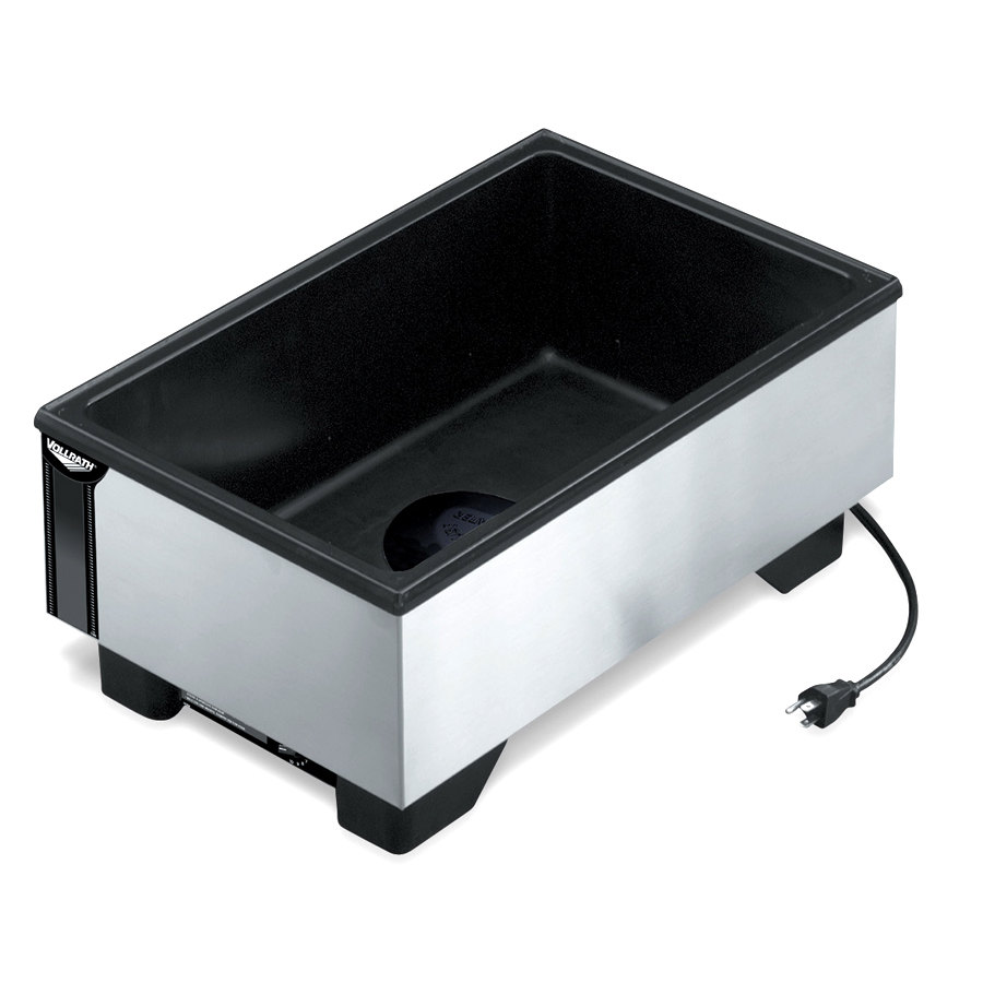 Vollrath 71001 Cayenne Full Size Countertop Warmer with Stainless Steel Exterior 120V