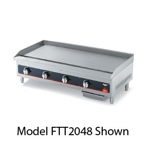 Vollrath 960GGT Cayenne 60 inch Heavy Duty Countertop Griddle with Thermostatic Controls - 150,000 BTU