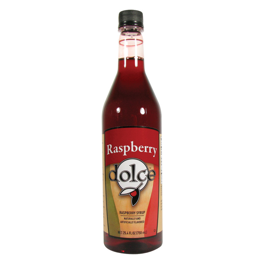 Dolce Raspberry Coffee Flavoring Syrup