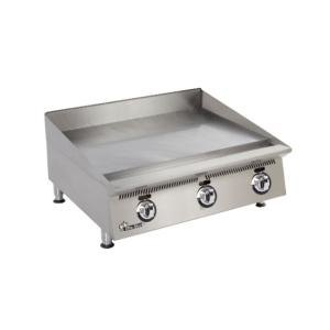 Star 824MA Ultra Max 24 inch Countertop Gas Griddle with Manual Controls - 60,000 BTU