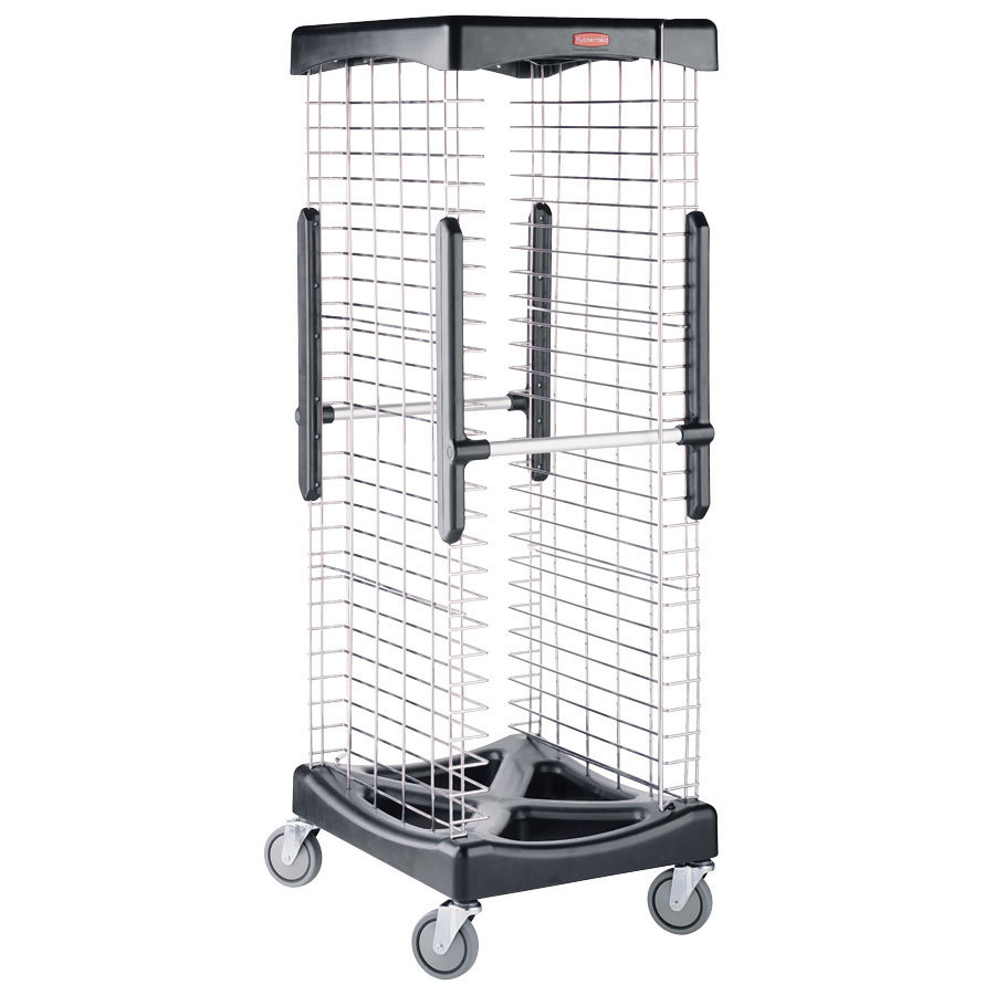 Rubbermaid 9F97 Proserve End Load Bun Pan Rack - 26 Slots (FG9F9700)