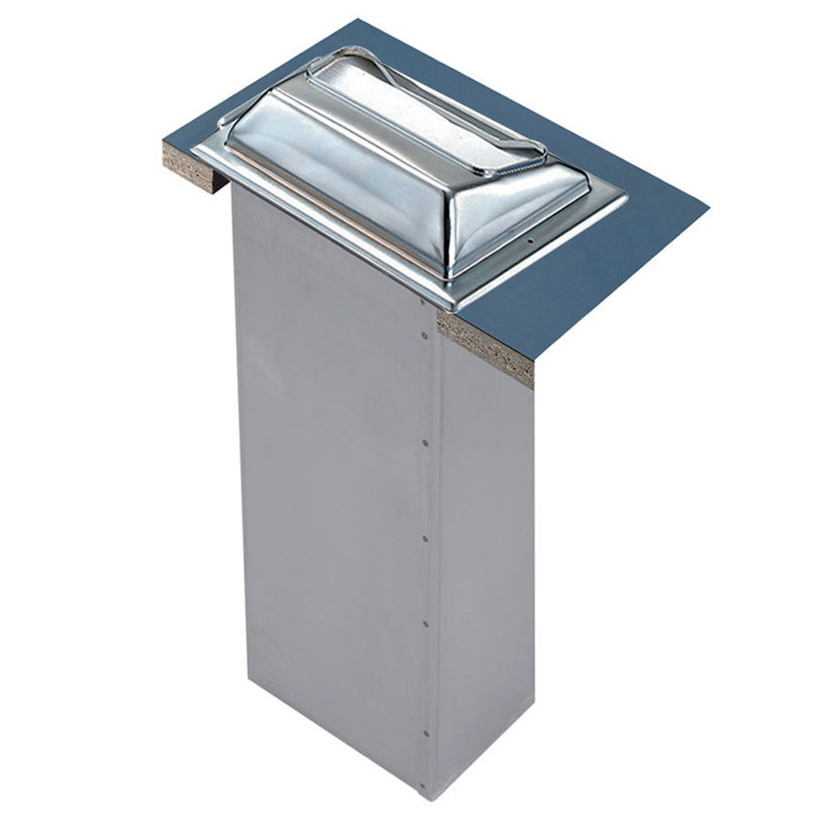 San Jamar H2001XC In-Counter Fullfold Napkin Dispenser - Chrome