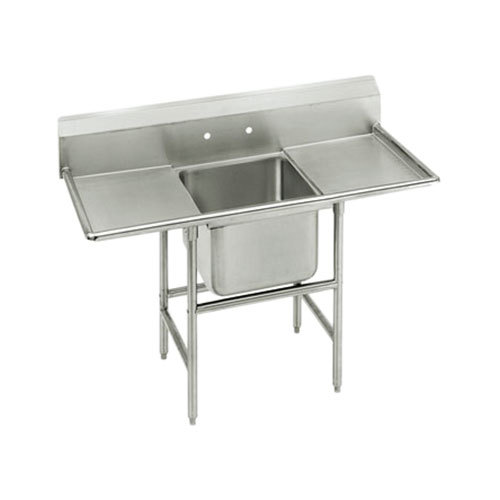 Advance Tabco 94-21-20-36RL Spec Line One Compartment Pot Sink with Two Drainboards - 94""