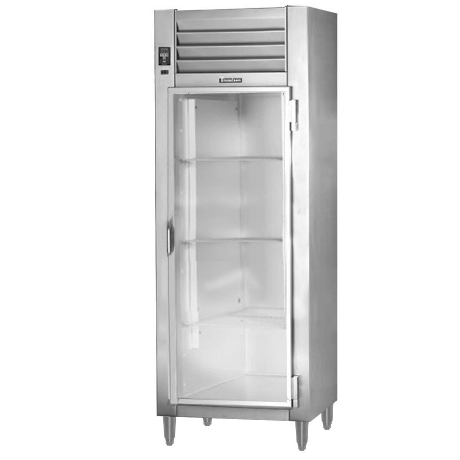 Traulsen AHT132EUT-FHG 26 Cu. Ft. One Section Glass Door Extra Wide Reach In Refrigerator - Specification Line