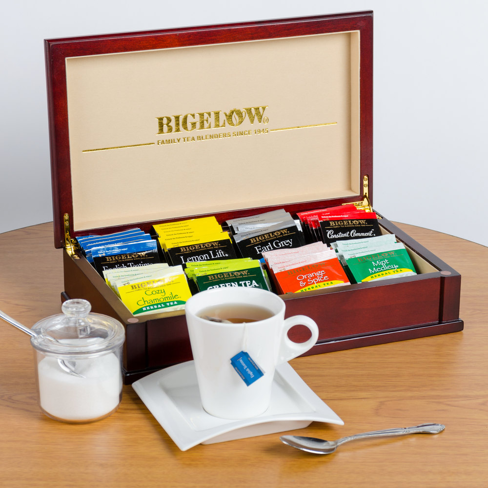 Bigelow Tea Chest with Assorted Teas