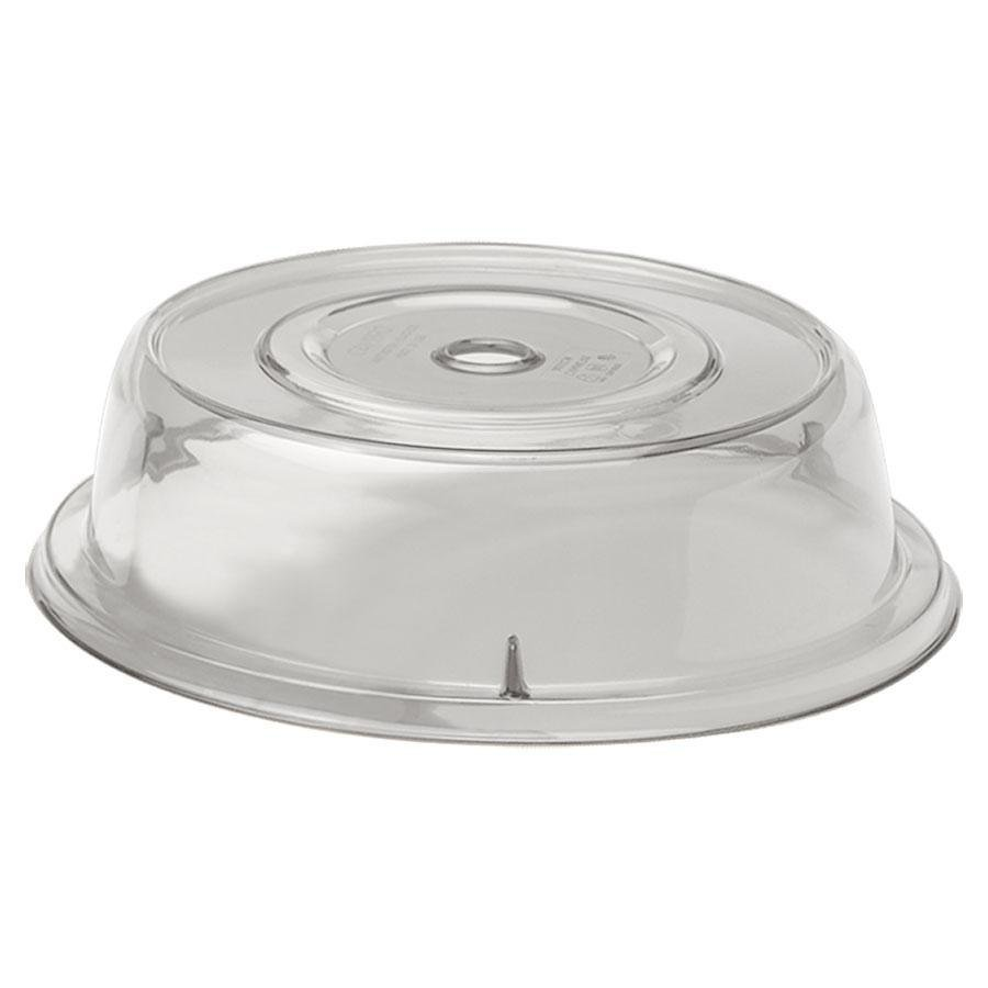 "Cambro 905CW152 Camwear Camcover 9 1/2"" Clear Plate Cover - 12/Case"