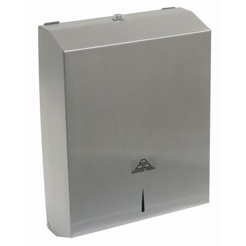 advance tabco 7 ps 35 c fold paper towel dispenser