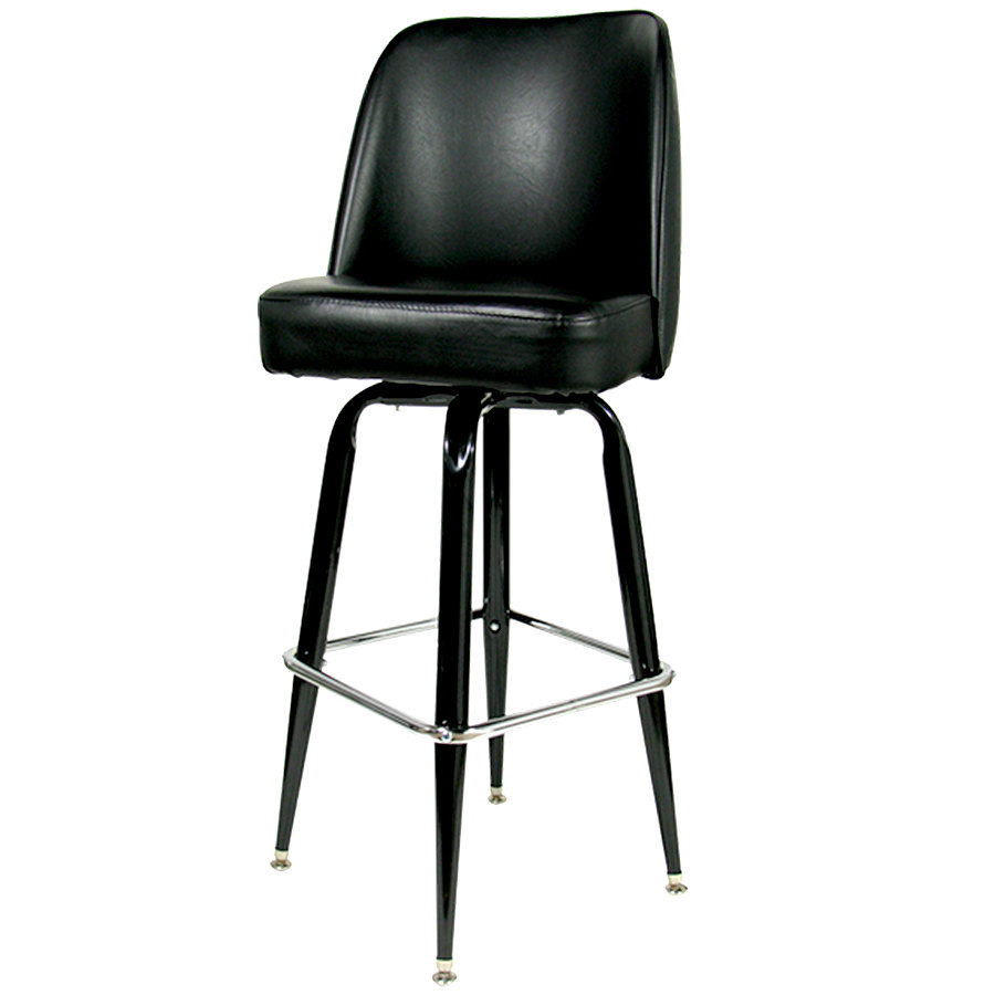 Restaurant Supply Restaurant Equipment Store : black bar stool with 17 wide bucket seat from www.webstaurantstore.com size 900 x 900 jpeg 37kB