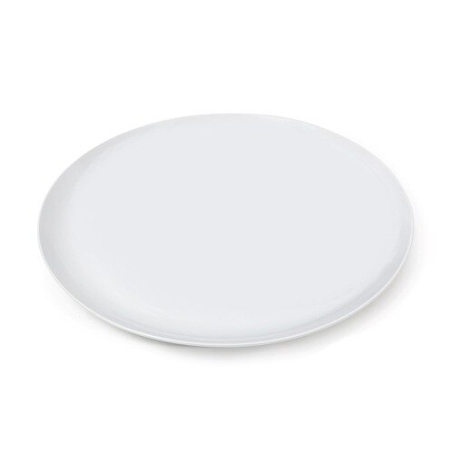 GET CS-6102-W 12 inch White Siciliano Plate - 12 / Case