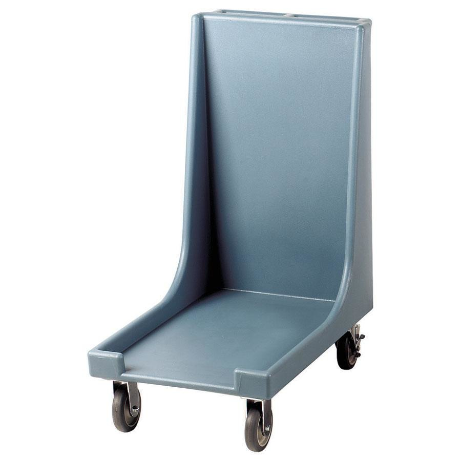 Cambro CD1826H401 Slate Blue Camdolly for 18 inch x 26 inch Trays with Handle