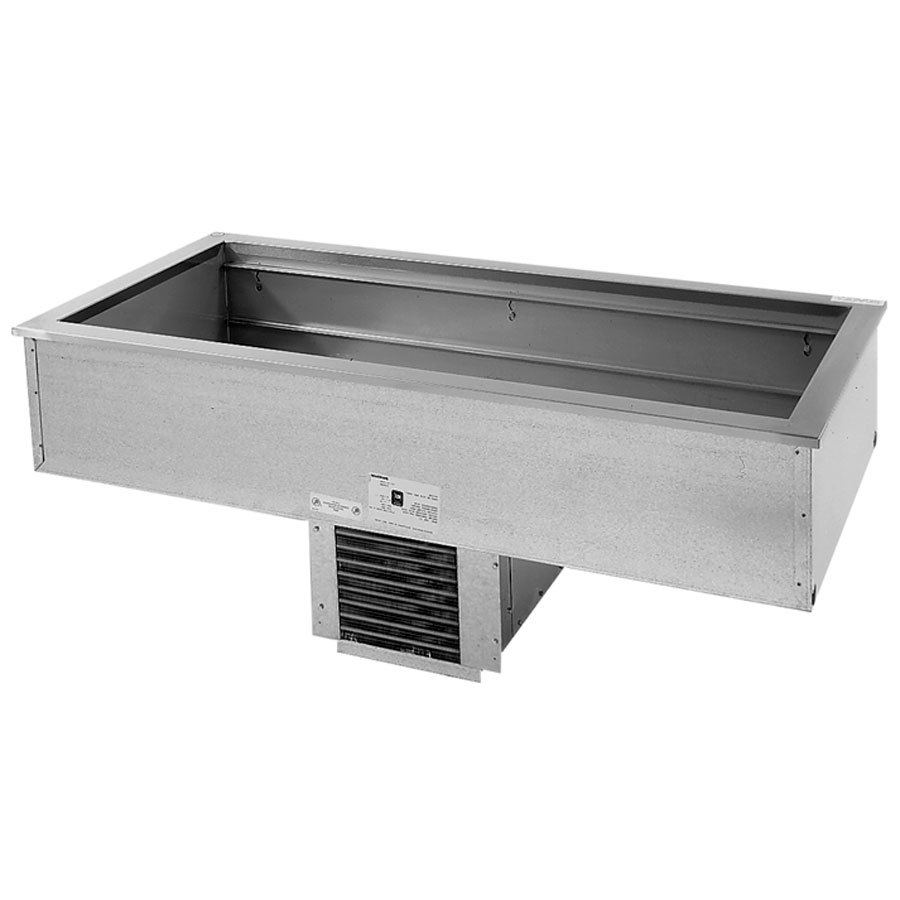 Delfield N8156B Four Pan Drop In Refrigerated Cold Food Well