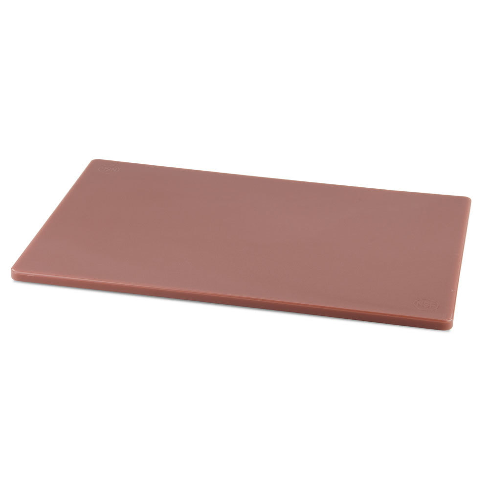 12 inch x 18 inch x 1/2 inch Cutting Board Brown
